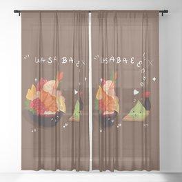 Wasabae Sheer Curtain