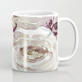 Earthy Painterly Floral Abstract Coffee Mug