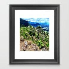 Ridge High Framed Art Print