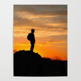 Sapper Sunset Poster