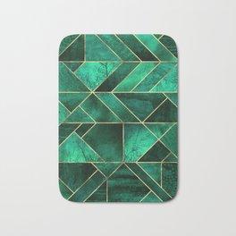 Abstract Nature - Emerald Green Bath Mat