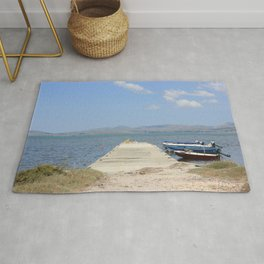 By The Boats Rug