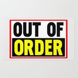 Out Of Order Rug