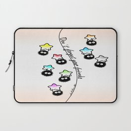 Don't forget your friends Laptop Sleeve