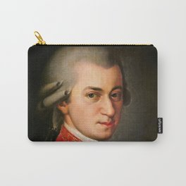 Wolfgang Amadeus Mozart (1756 -1791) by Barbara Krafft (1819) Carry-All Pouch