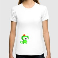 fez T-shirts featuring Rawr played Fez by Leilei Pan