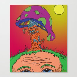 The Mushroom Man Canvas Print