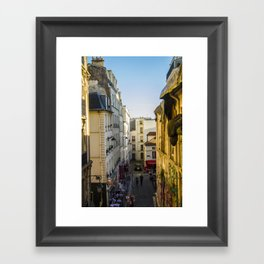 Montmartre series 3 Framed Art Print
