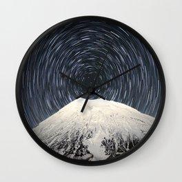 Full Mountain Wall Clock