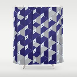 3D Lovely GEO III Shower Curtain