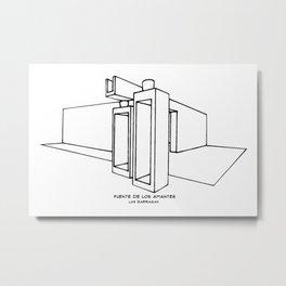 Fuente de los Amantes Metal Print