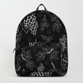 Grape background Backpack