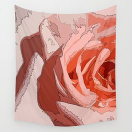 orange rr Wall Tapestry
