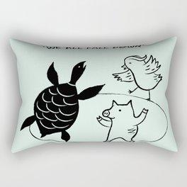 We All Fall Down Rectangular Pillow