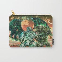 Cthulhu vs Godzilla Carry-All Pouch