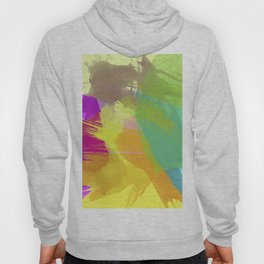 Coffee Stains in Colors - Abstract digital painting Hoody
