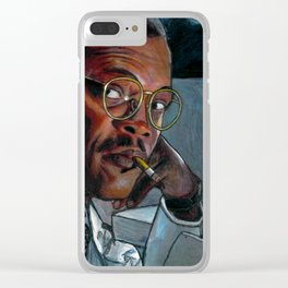 Hold On to Ya Butts Clear iPhone Case