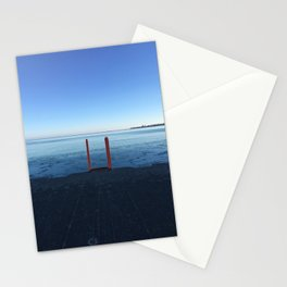 Lake Michigan in Winter, Chicago Stationery Cards