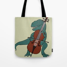 T-Rex Double Bass Tote Bag