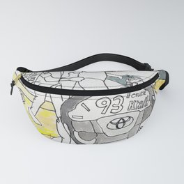 A Day Driving by Cruise Control Fanny Pack