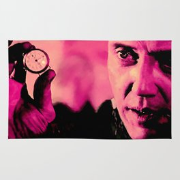 """Christopher Walken as Captain Koons """"The Gold Watch"""" in """"Pulp Fiction"""" (Q. Tarantino - 1994) Rug"""
