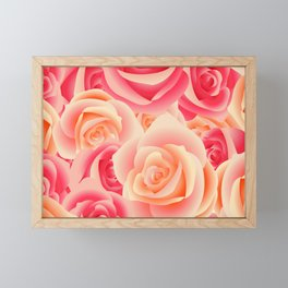 Rose Garden Framed Mini Art Print