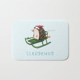 Sledgehog Bath Mat