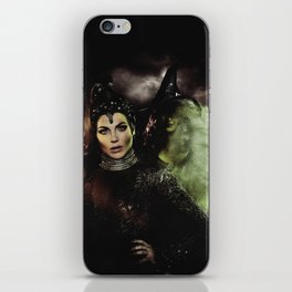Sisters: The Evil Queen and The Wicked Witch iPhone Skin