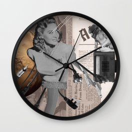 The Nth Degree of Devotion Wall Clock