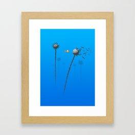 Little Mine Sweeper Framed Art Print
