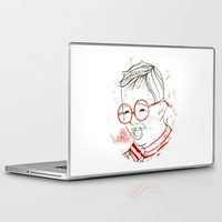 stripe Laptop & iPad Skins featuring stripe by Michela Buttignol