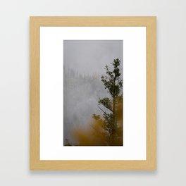Myra Canyon Late Fall Framed Art Print