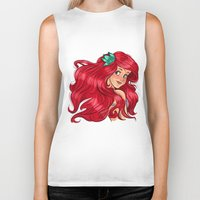 ariel Biker Tanks featuring ariel by Lisa ♥