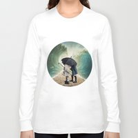 waves Long Sleeve T-shirts featuring Waves by Cs025