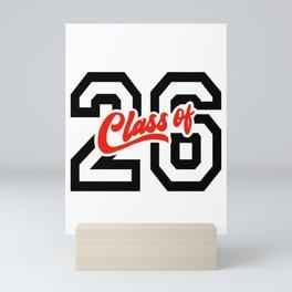 Class of '26 - 2026 Mini Art Print