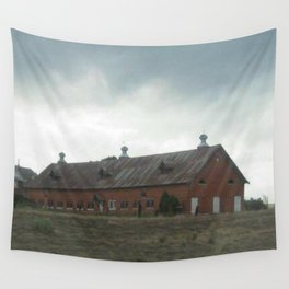 Storm_Across_The_Highway Wall Tapestry