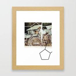 hill Framed Art Print