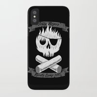 camp iPhone & iPod Cases featuring Pirate Camp by WanderingBert / David Creighton-Pester