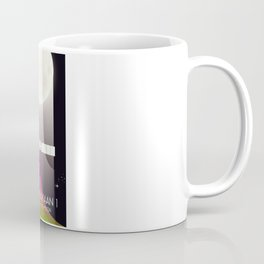 chandrayaan -1 Space mission to the Moon space art. Coffee Mug