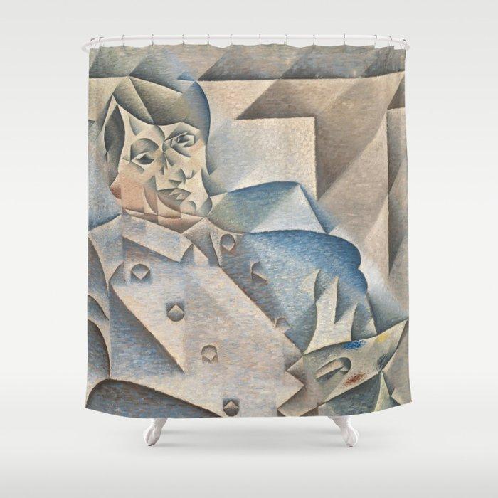 Portrait Of Pablo Picasso Shower Curtain