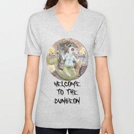 Dungeon Babe Unisex V-Neck