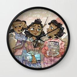 Hidden Figures Wall Clock