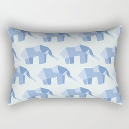 E is for Elephant  Rectangular Pillow