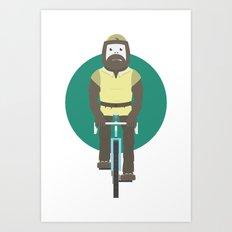 Cyclesquatch Art Print