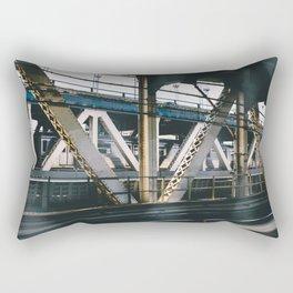 All Aboard the MTA Rectangular Pillow