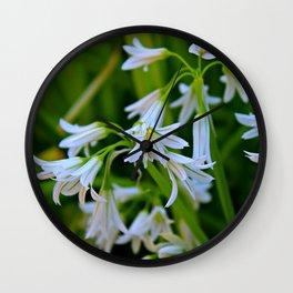 White Bells Wall Clock
