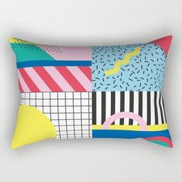 Memphis Party Rectangular Pillow