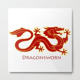 Dragonsworn (Color) Metal Print