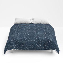 Sashiko Pattern Comforters