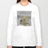 "helen Long Sleeve T-shirts featuring ""Anyone seen Helen??"" 2013 a.correia by correia creative"